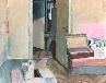 Galerie 28) Letzter Tag in Kiraly utca, 64  x 50 cm, Acryl auf Papier, 2008.jpg anzeigen.