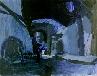 Galerie Blauer Raum, Acryl auf Papier, ca 30 x 40 cm, 2000.jpg anzeigen.